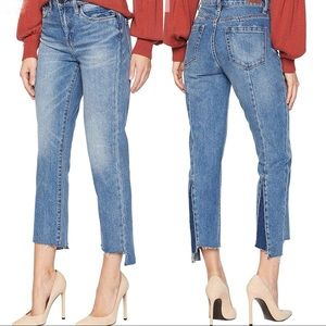 BLANK NYC Straight Leg Cinderella Story Jeans